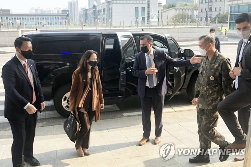 U.S. intelligence chief in Seoul